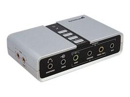 StarTech.com 7.1 USB Audio Adapter External Sound Card w  SPDIF Digital Audio, ICUSBAUDIO7D, 10170038, Sound Cards