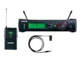 Shure SLX14 85 Wireless System w  WL185 Lavalier Mic, H19 Frequency Band, Power Supply Included, SLX14/85-H19, 37474242, Microphones & Accessories