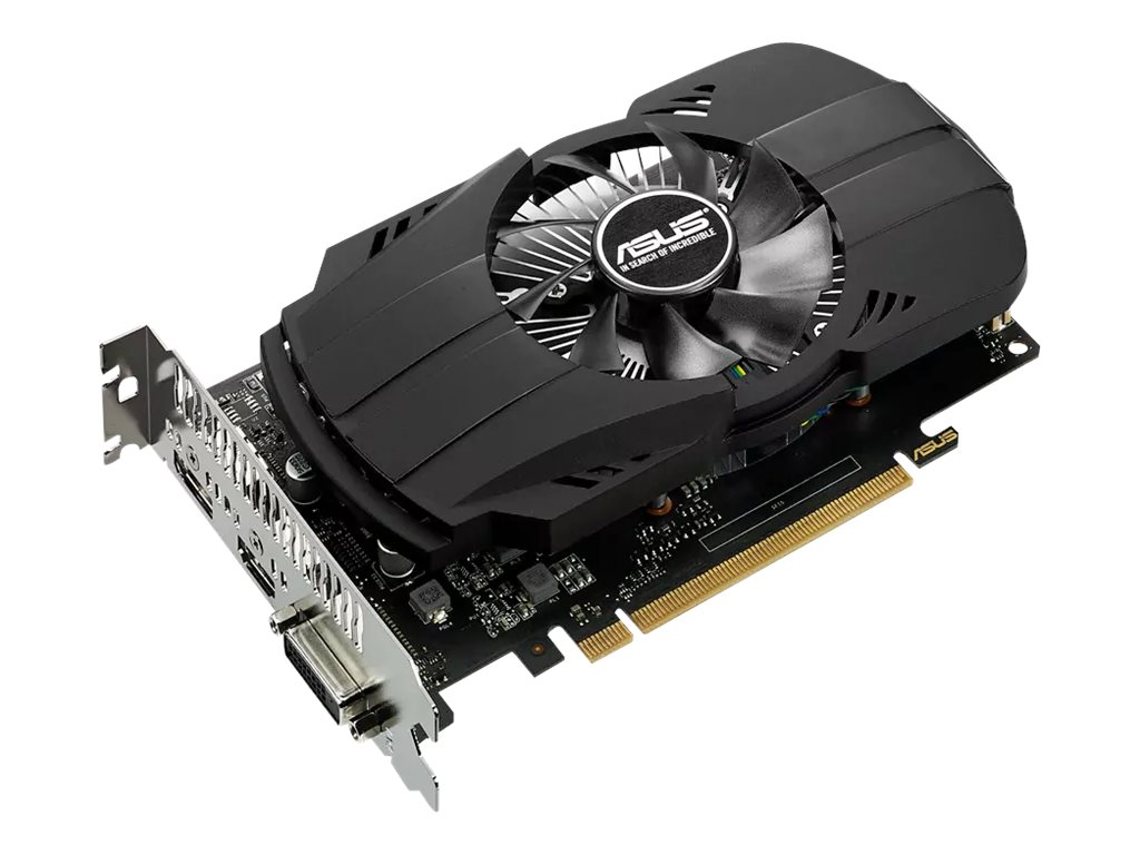 Asus NVIDIA GeForce GTX 1050 TI PCIe 3.0 Graphics Card, 4GB GDDR5, PH-GTX1050TI-4G, 33104551, Graphics/Video Accelerators