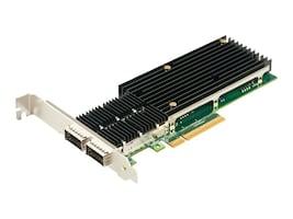 Axiom PCIE3-2QSFP-AX Main Image from Right-angle