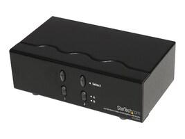 StarTech.com 2x2 VGA Matrix Video Switch Splitter with Audio, ST222MXA, 12977767, Video Extenders & Splitters