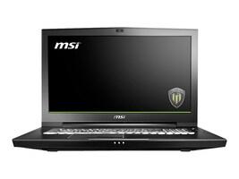 MSI WT75 8SK-007 Core i7-8700 3.2GHz 64GB 1TB ac BT WC 17.3 UHD W10P, WT75007, 35780959, Workstations - Mobile
