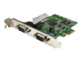 StarTech.com 2-Port PCI Express Serial Card with 16C1050 UART, PEX2S1050, 33651037, Controller Cards & I/O Boards
