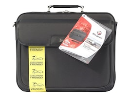 Targus Checkpoint-Friendly 16 Traditional Laptop Case, Black, TBC023US, 9125619, Carrying Cases - Notebook