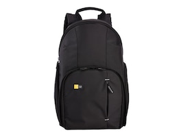 Case Logic DSLR Compact Backpack, TBC411BLACK, 33539820, Carrying Cases - Camera/Camcorder