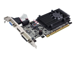 eVGA GeForce GT 610 PCIe 2.0 x16 Graphics Card, 1GB DDR3, 01G-P3-2615-KR, 14249448, Graphics/Video Accelerators