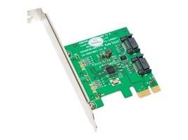 Syba 2 Port SATA III PCI-e 2.0 x1 Card, SY-PEX40039, 35888687, Controller Cards & I/O Boards