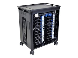 HP 20-Unit Managed Charging Cart V2, T9E83AA#ABA, 32203241, Computer Carts