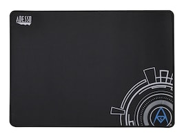 Adesso Tru-Form Non-Slip Gaming Mouse Pad, 16 x 12, Black, TRUFORM P102, 35125508, Ergonomic Products