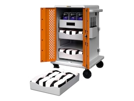 Bretford Manufacturing 30 Unit VR Cart with 4 Shelves, CORE30VR, 35781791, Computer Carts