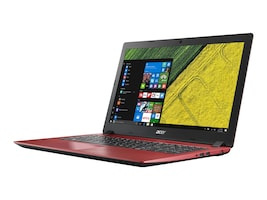 Acer Aspire 315-51-514S Core i5-7200U 2.5GHz 6GB 1TB ac BT GNIC WC 2C 15.6 FHD W10H64 Red, NX.GS5AA.002, 34907575, Notebooks