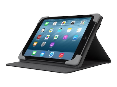Targus Safe Fit Case for iPad Air Air 2 7.9, Black, THZ611GL, 28667325, Carrying Cases - Tablets & eReaders