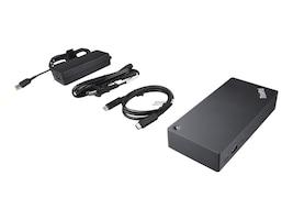 Lenovo USB-C Dock for ThinkPad, 40A90090US, 33425339, Docking Stations & Port Replicators