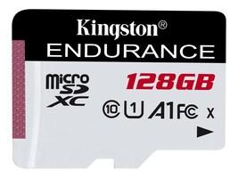 Kingston 128GB microSDXC Endurance Flash Memory Card, Class 10, SDCE/128GB, 36852344, Memory - Flash