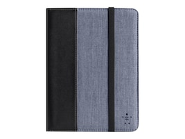 Belkin Chambray Cover with Stand for Kindle Fire HD 7, Blacktop Blue, F8N885TTC01, 14971941, Carrying Cases - Tablets & eReaders