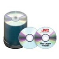 Microboards 52x 80min. JVC Taiyo Yuden Silver Thermal Lacquer CD Media (600-pack), JCDR-ZZ-SB, 13812905, CD Media