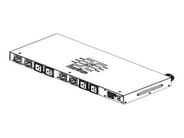 Raritan PDU  5kVA 208V 1-ph 24A 1U L6-30P Input (4) C13 (4) C19 Outlets, PX2-5198R, 18151368, Power Distribution Units