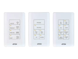 Aten Control System 8-Button Programmable Keypad, US, 1-Gang, VK108US, 35039327, Keyboards & Keypads