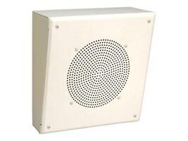 84W Slant Metal Enclosure Speaker w  Transformer & VR, MB8TSLVR, 23836425, Speakers - Audio