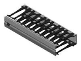 Chatsworth Evolution Cable Manager, Horizontal, 19, 35441-701, 12247262, Rack Cable Management