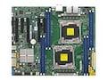 Supermicro Motherboard, X10DAL-i ATX C612 (2x)E5-2600 v3 Family Max.512GB DDR4 10xSATA 5xPCIe 2x10GbE, MBD-X10DAL-I-O, 23517029, Motherboards
