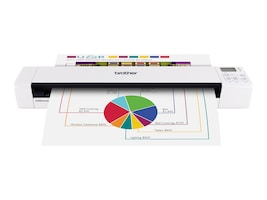Brother DSmobile 820W Wireless Mobile Color Page Scanner, DS-820W, 16147461, Scanners