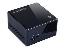Gigabyte Tech Barebones, BRIX Core i7-5775R 2xDDR3L mSATA IrisPro6200 GbE, Black, GB-BXI7-5775R, 31431591, Barebones Systems