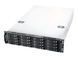 Chenbro Chassis, RM31616M2-R875 3U RM 16x3.5' HS Bays 7xSlots 875W RPS, RM31616M2-R875, 18462596, Cases - Systems/Servers