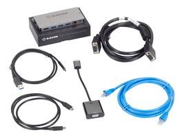 Black Box USB C DOCKING STATION -, USBC2000-VGA-KIT, 41053354, USB & Firewire Hubs