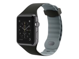 Belkin Sport Band for Apple Watch, 42mm, Black, F8W730BTC00, 33418711, Wearable Technology