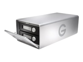 G-Technology 20TB GRAID Thunderbolt 3 USB-C Storage, 0G05763, 34019519, Direct Attached Storage