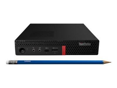 Lenovo TopSeller ThinkStation P330 Tiny Core i5-9500T 2.2GHz 16GB 256GB SSD OPAL P620 ac BT W10P64, 30CF002XUS, 37510805, Workstations
