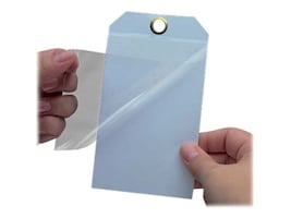 Panduit 3 x 2 Self Laminating Blank White Tags (25 Tags), PST-5, 36051133, Paper, Labels & Other Print Media