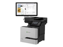 Lexmark CX725de Multifunction Color Laser Printer - HV w  CAC Enablement (TAA Compliant), 40CT015, 32190064, MultiFunction - Laser (color)