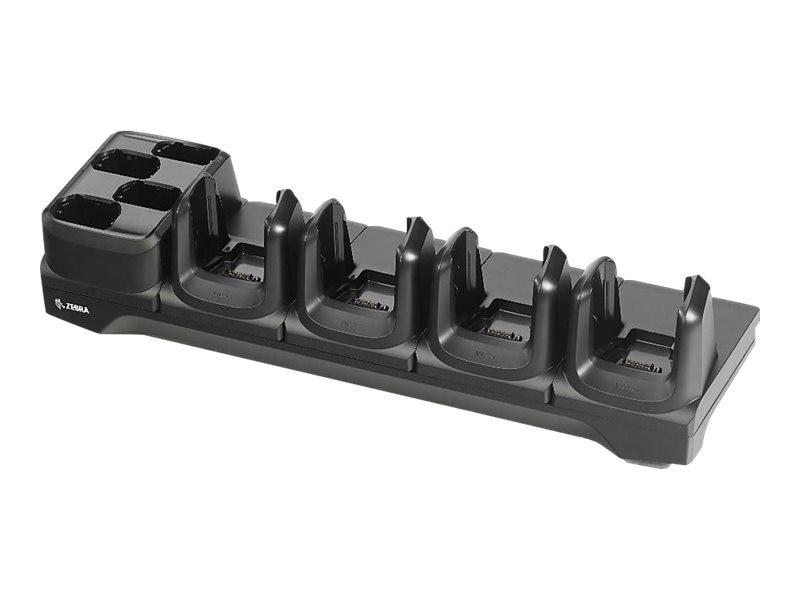 Zebra Symbol MC33 4-Slot Ethernet Cradle w 4-Slot Spare Battery (CRD ...