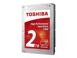 Toshiba 2TB P300 3.5 Internal Hard Drive, HDWD120XZSTA, 29491237, Hard Drives - Internal