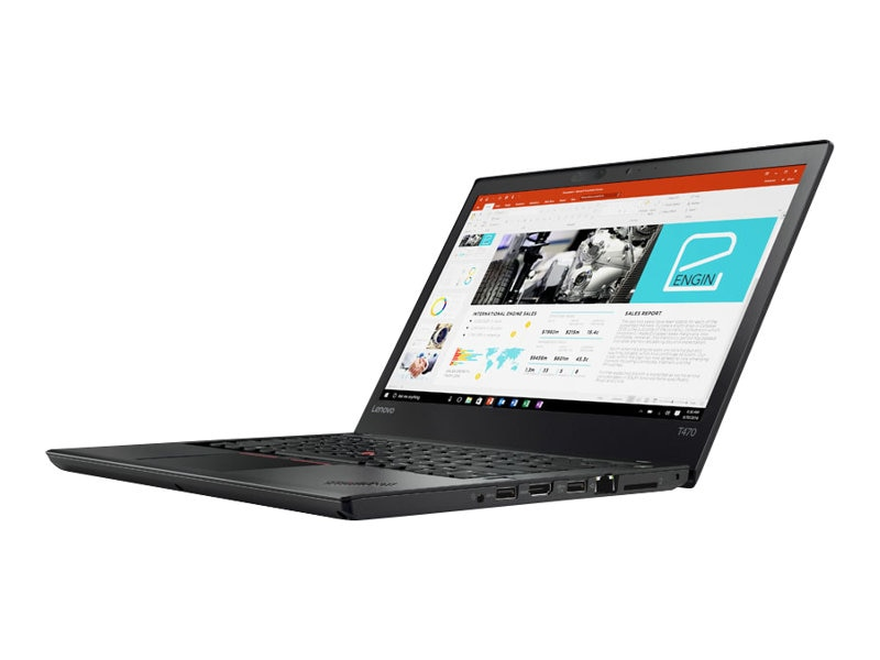 Lenovo TopSeller ThinkPad T470 2.4GHz Core i5 14in display, 20JM0009US, 34358158, Notebooks