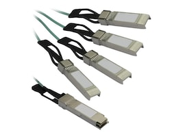 StarTech.com QSFP4X10AO15 Main Image from Left-angle