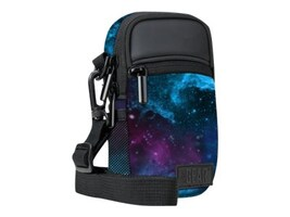 Accessory Genie Compact Point-and-Shoot Camera Sling with Rain Cover, Galaxy, GRQLQCD100GAEW, 36567050, Carrying Cases - Camera/Camcorder