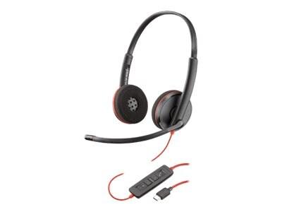 Plantronics BlackWire C3220 USB-C Headset, 209749-101, 34770409, Headsets (w/ microphone)
