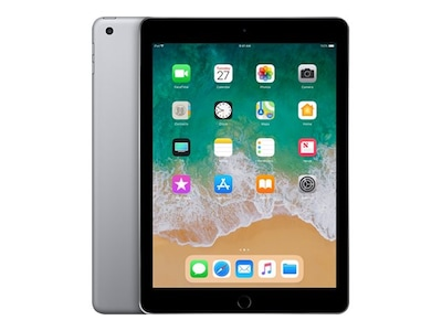 Apple iPad 9.7 32GB, Wi-Fi, Space Gray, MR7F2LL/A, 35365288, Tablets - iPad