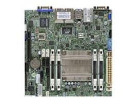 Supermicro Motherboard, A1SRi-2558F Mini-ITX Atom QC SoC C2558 Max.64GB DDR3 6xSATA PCIe 4xGbE, MBD-A1SRI-2558F-O, 31235515, Motherboards