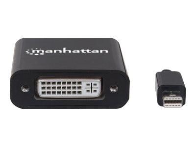Manhattan Mini-DisplayPort to DVI-I Dual-Link M F Adapter, Black