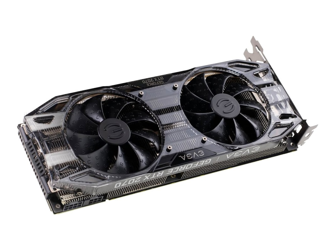 eVGA GeForce RTX 2070 XC PCIe 3 0 Graphics Card, 8GB GDDR6