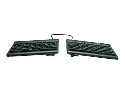 Kinesis Freestyle2 Keyboard for Mac w  Freestyle V3 Accessory, KB830HMB-BLK, 14998844, Keyboards & Keypads