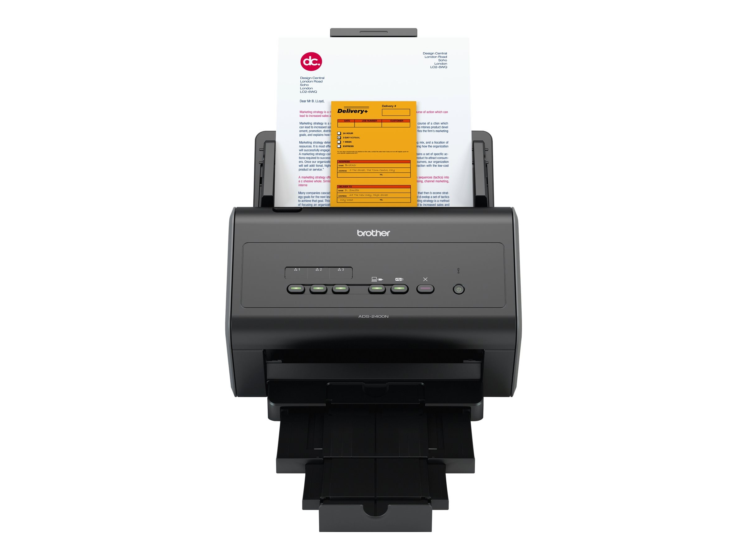 Brother Network Scanner Mid to Large Size Work Groups