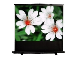 Mustang AV Pull-Up Projection Screen, Matte White, 4:3, 80, SC-P80D43, 16790060, Projector Screens