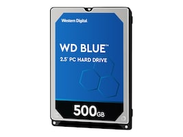 WD WD5000LPCX Main Image from Right-angle