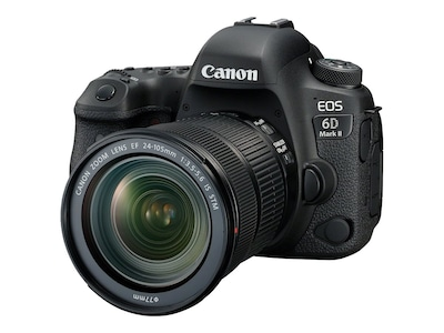 Canon EOS 6D Mark II DSLR Camera with 24-105mm f 3.5-5.6 Lens, 1897C021, 34704938, Cameras - Digital
