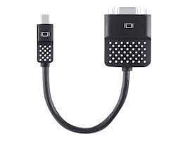 Belkin Mini DisplayPort to VGA M F Adapter, Black, F2CD028BT, 17507414, Adapters & Port Converters